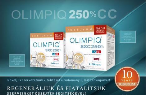 Olimpiq SXC CC 250% 2x60 db kapszula
