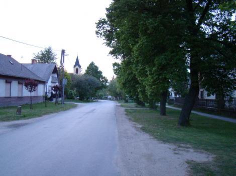 Kossuth utca nyáron