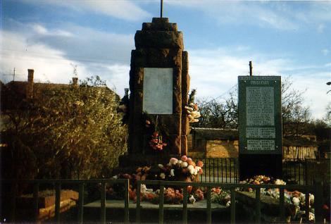 II. világháborús emlékmű avatás