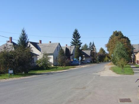 Kossuth utca ősszel