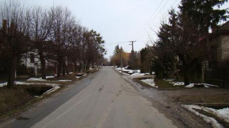 Kossuth utca télen