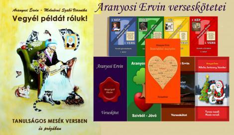 Aranyosi Ervin verseskötetei