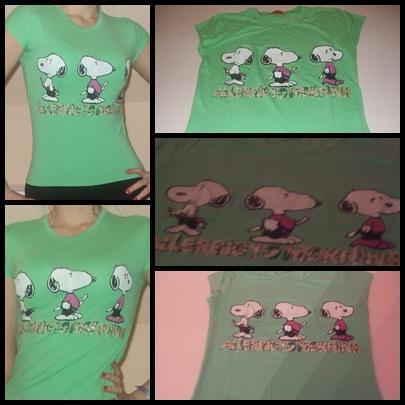 Zöld Snoopy-s felső  650Ft M-méret 2dcbfe724c